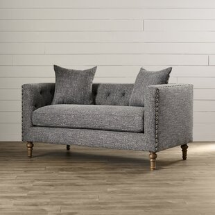 Dietame Chesterfield Loveseat by Lark Manor No Copoun