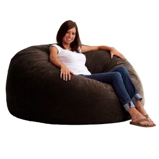 Magnificent Fuf Big Joe King Bean Bag Chair Inzonedesignstudio Interior Chair Design Inzonedesignstudiocom