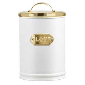 Madison Metal 2.44 qt. Flour Jar