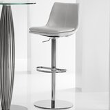 Monte Carlo Swivel Adjustable Height Bar Stool by Bellini Modern Living