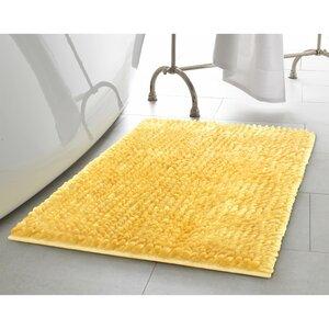 2 Piece Butter Chenille Bath Rug Set