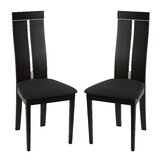 Luebbert Upholstered Side Chair in Charcoal (Set of 2) by Brayden Studio®
