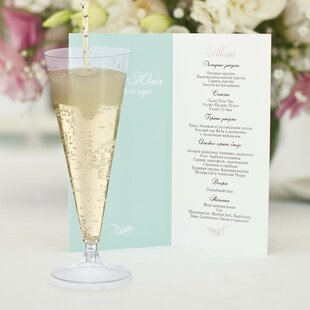 100ml Plastic Flutes (Set Of 24) By The Party Aisle