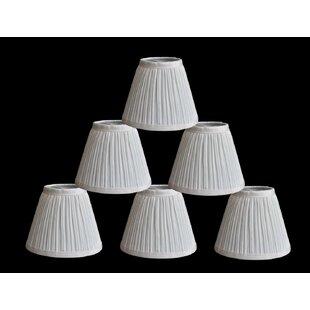 Where buy  Pleat 6 Silk Empire Lamp Shade (Set of 6) By Winston Porter