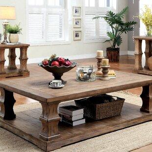 Arizona Wood Coffee Table by Beachcrest Home