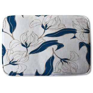 Nature Floral White Bath Rugs Mats You Ll Love In 2021 Wayfair