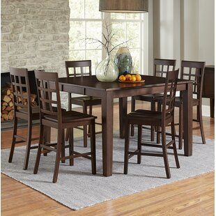 Upshaw 7 Piece Pub Table Set by Gracie Oaks