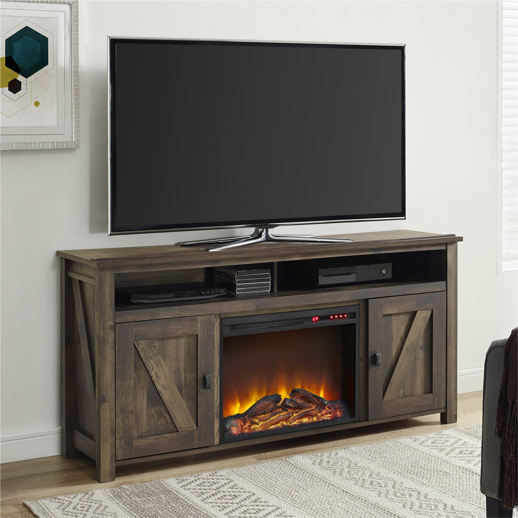 Remarkable Whittier Tv Stand For Tvs Up To 60 With Fireplace Download Free Architecture Designs Estepponolmadebymaigaardcom