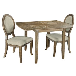 Braun 3 Piece Drop Leaf Dining Set Ophelia & Co.