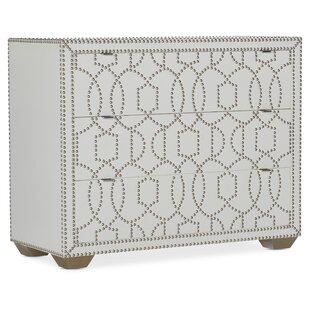 Melange Carlita 3 Drawer Accent Chest by Hooker Furniture