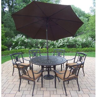 Oakland Living Victoria 7 Piece Dining Se..