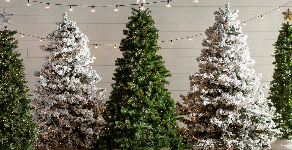 Pictures Of Christmas Trees artificial christmas trees you'll love | wayfair