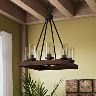 Akilah 8-Light Kitchen Island Pendant by World Menagerie