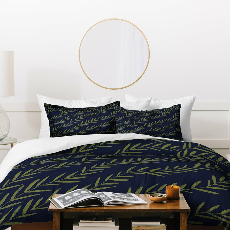 East Urban Home Fable Garden Vine Duvet Cover Set