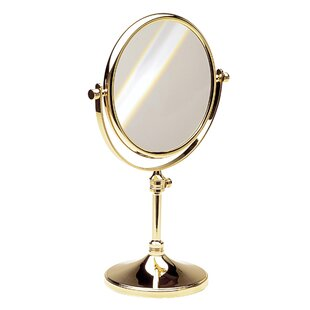 Read Reviews Double Face Pedestal Magnifying Mirror ByWindisch by Nameeks