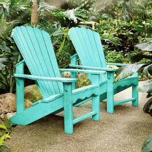 Beachcrest Home Alanna Plastic Adirondack Chair