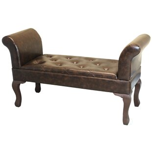 Methuen Faux Leather Bed End Bench