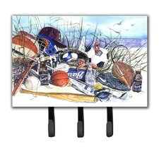 Sports on The Beach Key Holder by Caroline's Treasures