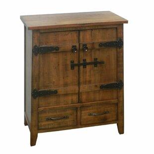 Morillo Trendy Wooden 2 Door Accent Cabinet by Red Barrel Studio