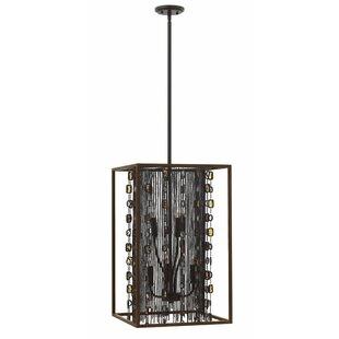 Hinkley Lighting Mercato 6-Light Square/Rectangle Chandelier