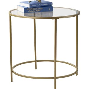 Broadridge Round End Table by Willa Arlo Interiors