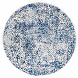 Citium Blue Area Rug by Brayden Studio