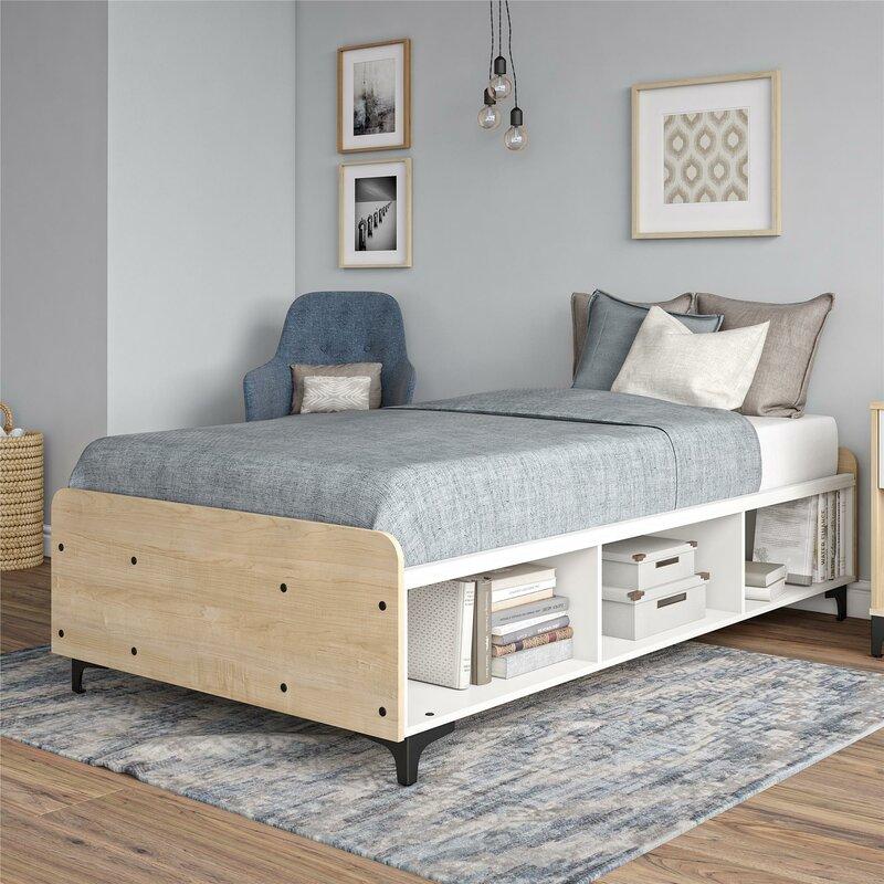 Isabelle Max Karan Twin Platform Bed