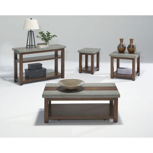 Union Rustic Nikole 4 Piece Coffee Table Set