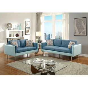 George Oliver Upper Stanton Sofa and Loveseat Set