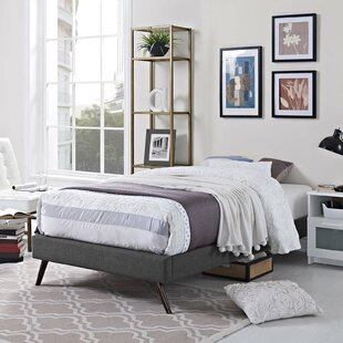 Beckett Dinwiddie Upholstered Platform Bed by Mistana