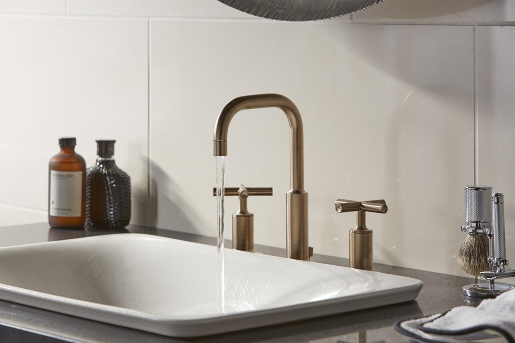 K 75749 Hd1 0 Kohler Sartorial Vitreous China Rectangular Vessel Bathroom Sink Wayfair