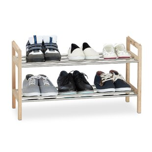6 Pair Shoe Rack By Brambly Cottage