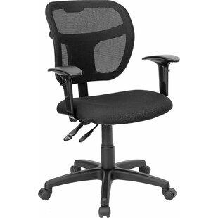 Symple Stuff Krull Mid-Back Mesh Swivel Office Chair