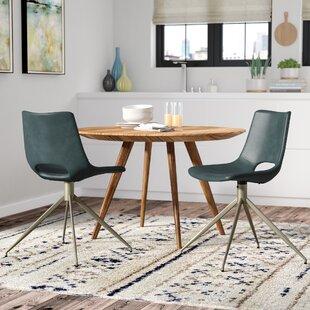 Corrigan Studio Teddy Swivel Side Chair (Set of 2)