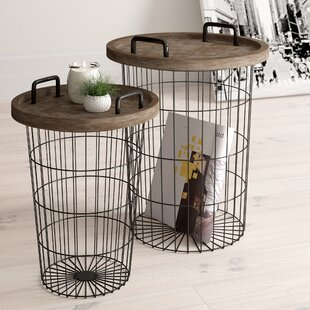 Best Reviews Janay 2 Piece Nesting Table by Zipcode Design