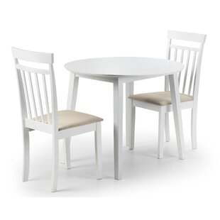 Inglewood Extendable Dining Set With 2 Chairs By Breakwater Bay