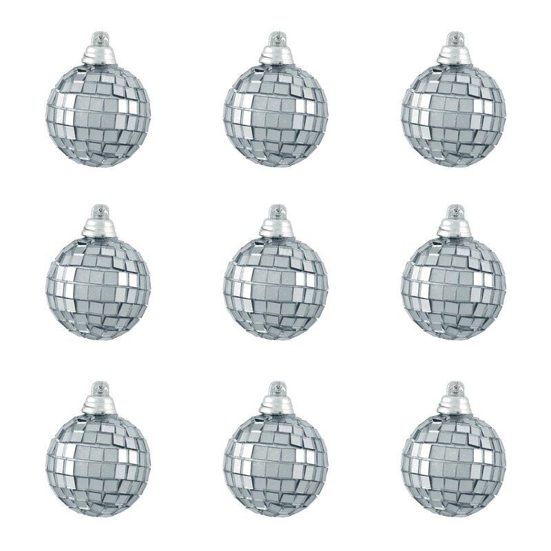 Northlight Mirrored Glass Disco Ball Christmas Ornament  Reviews