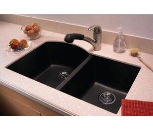 32 X 21 Double Basin Undermount Kitchen Sink By Swanstone