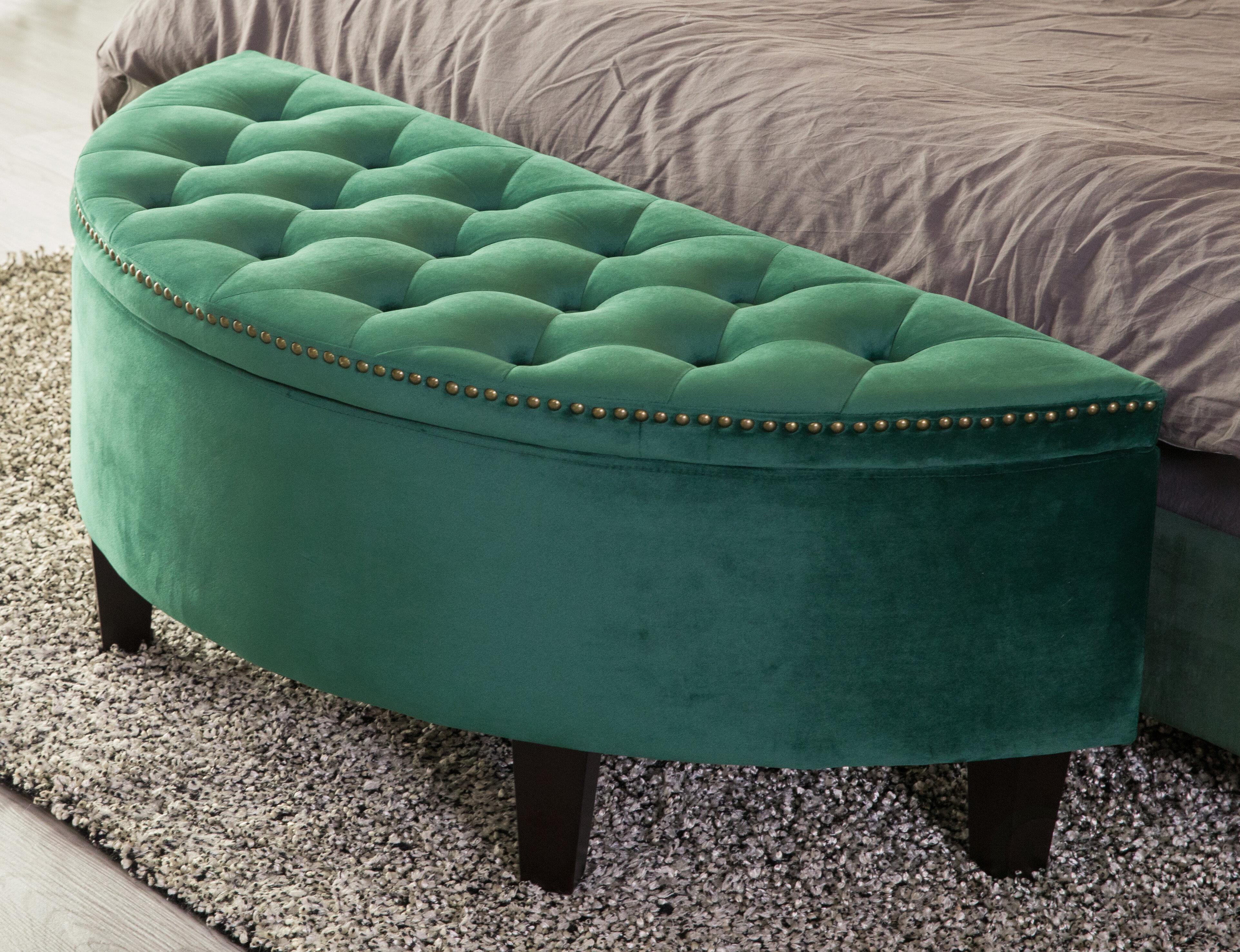 Mercer41 Ariad Upholstered Storage Bench Reviews Wayfair