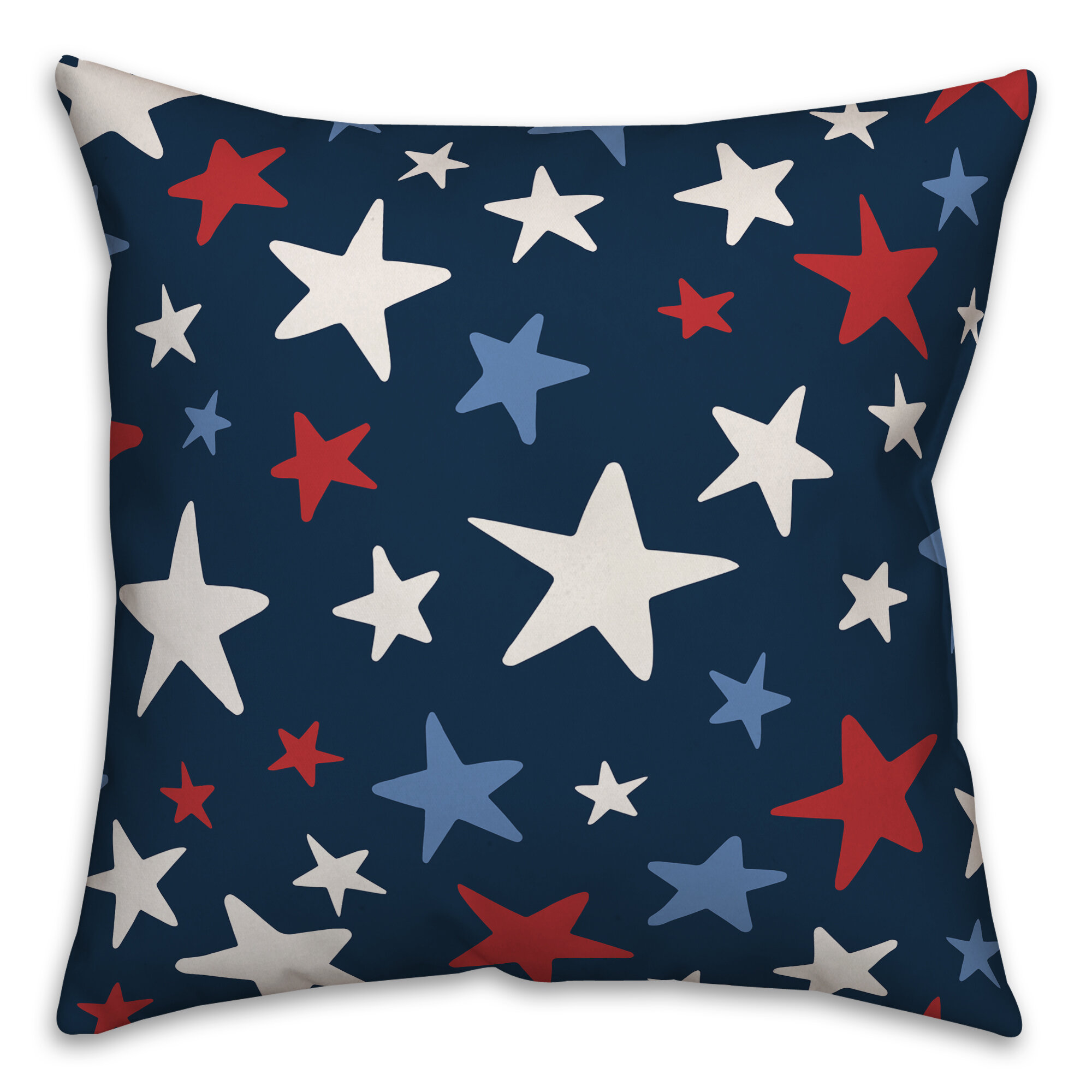 August Grove Woolf Stars Throw Pillow Cover Wayfair