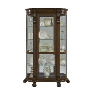 Murillo Lighted Curio Cabinet