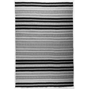 Denver Hand-Woven Ivory/Black Area Rug by HC Tæpper