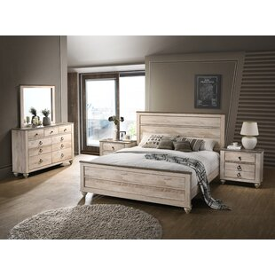 Gracie Oaks Manzano Panel 4 Piece Bedroom Set
