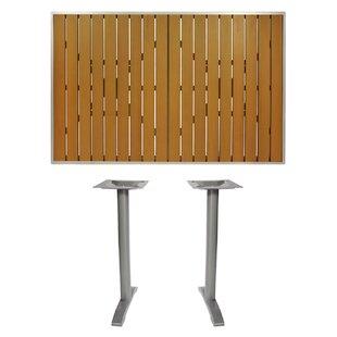 Longport Plastic/Resin Bar Table by BFM Seating