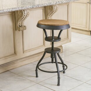 Calexico Adjustable Height Swivel Bar Stool