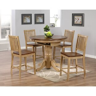 Huerfano Valley 5 Piece Pub Table Set by Loon Peak