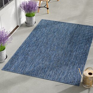 Janet Blue Indoor/Outdoor Area Rug