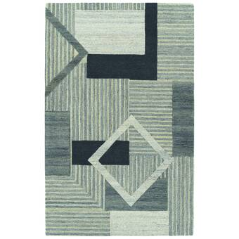 Orren Ellis Wirt Hand Tufted Wool Brown Area Rug Wayfair