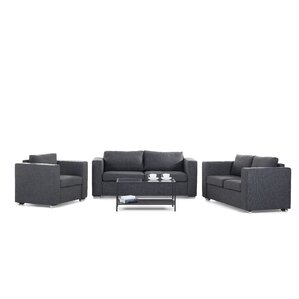 Fray 3 Piece Living Room Set by Brayden Studio