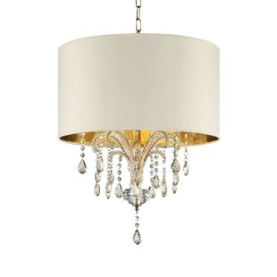 Whately 3-Light Drum Chandelier